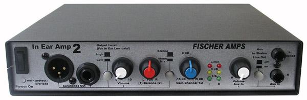 In Ear Monitoring: Headphone Amplifiers & Periphery - Fischer Amps - EN